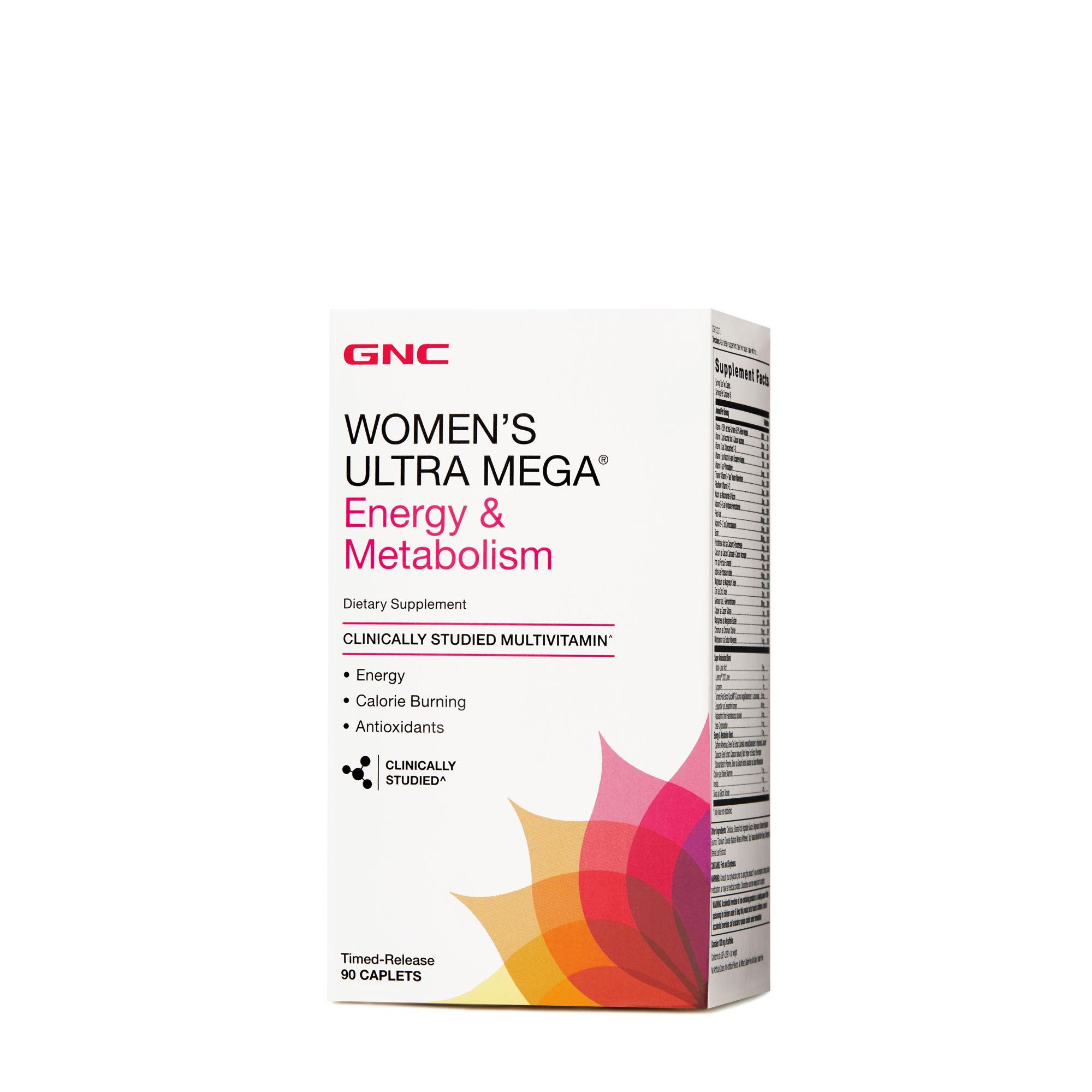 Gnc Womens Ultra Mega Energy & Metabolism By Gnc.