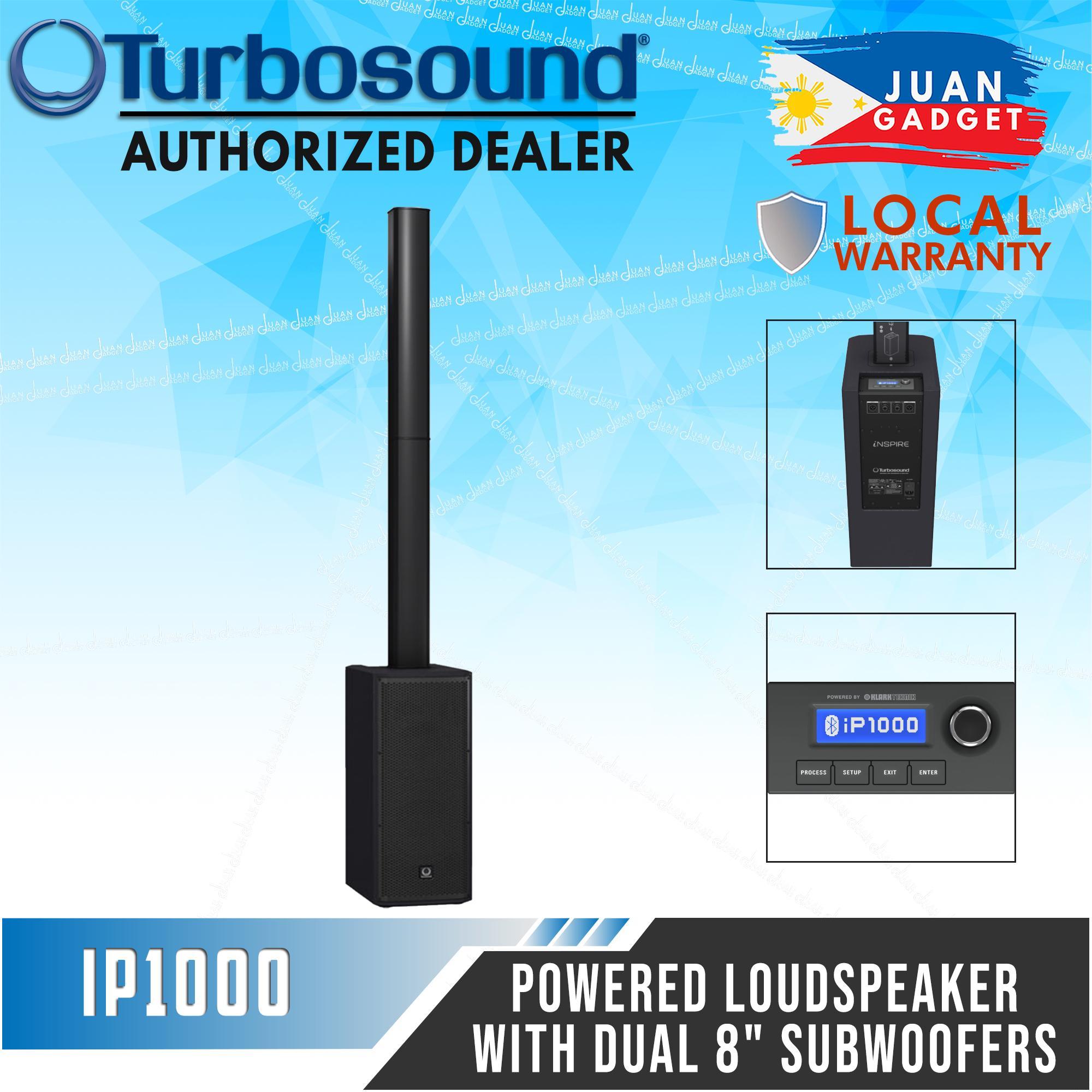 Turbosound iNSPIRE iP1000 - Powered Column Loudspeaker with Dual 8