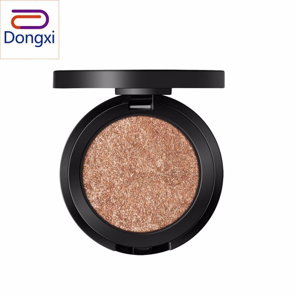 Dongxi 1 PC 6 Warna Mencerahkan Warna Kulit untuk Membuat Tiga Dimensi Wajah Makeup Sangat Mengkilap