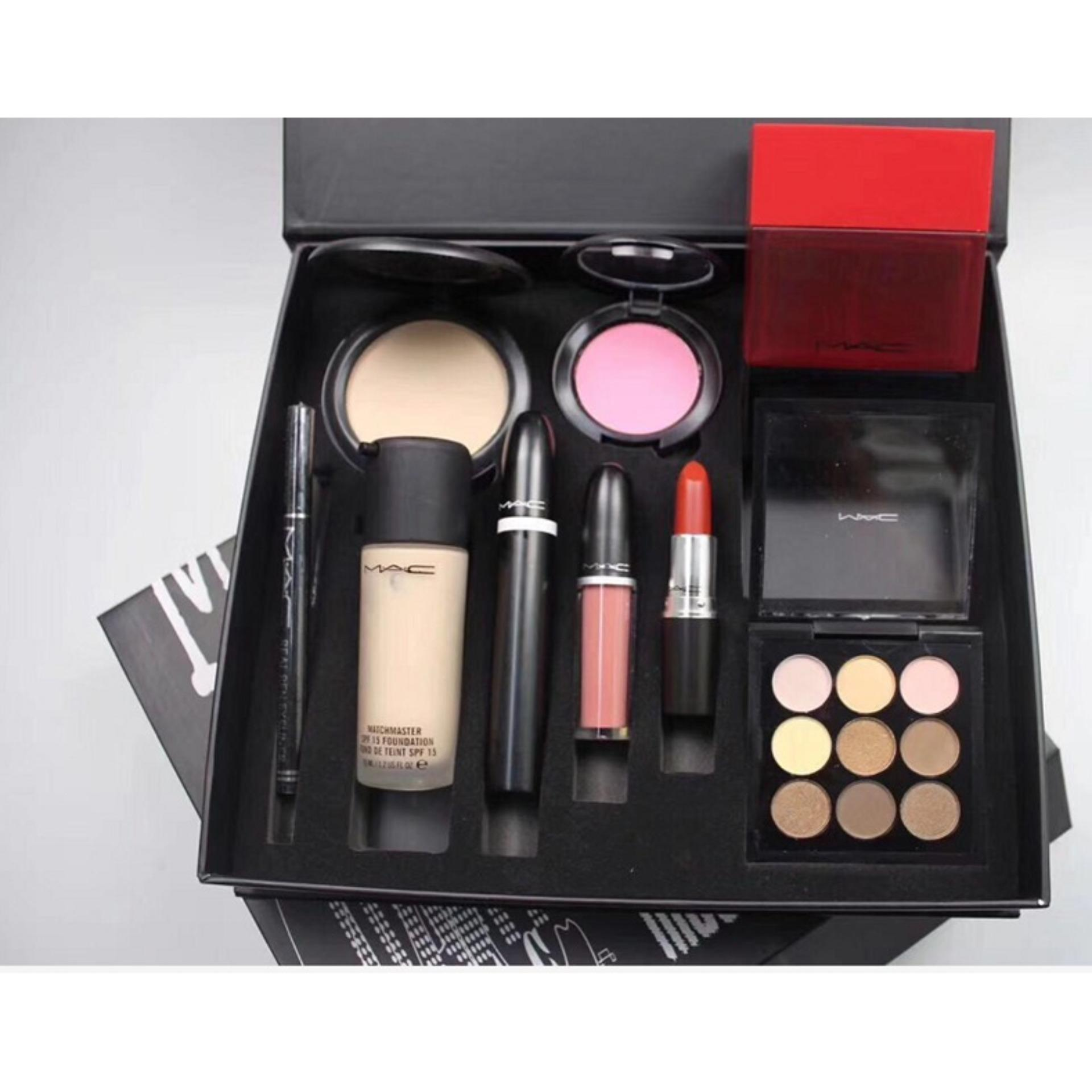 Mac Makeup Set For Women 9 In 1 Buy Sell Online Eyes With Cheap Price Lazada Ph