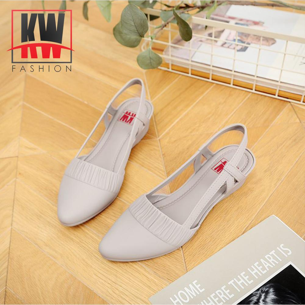 8d90d51455 KW Women's Strapped Korean Jelly Shoes #382S3 A610 L08