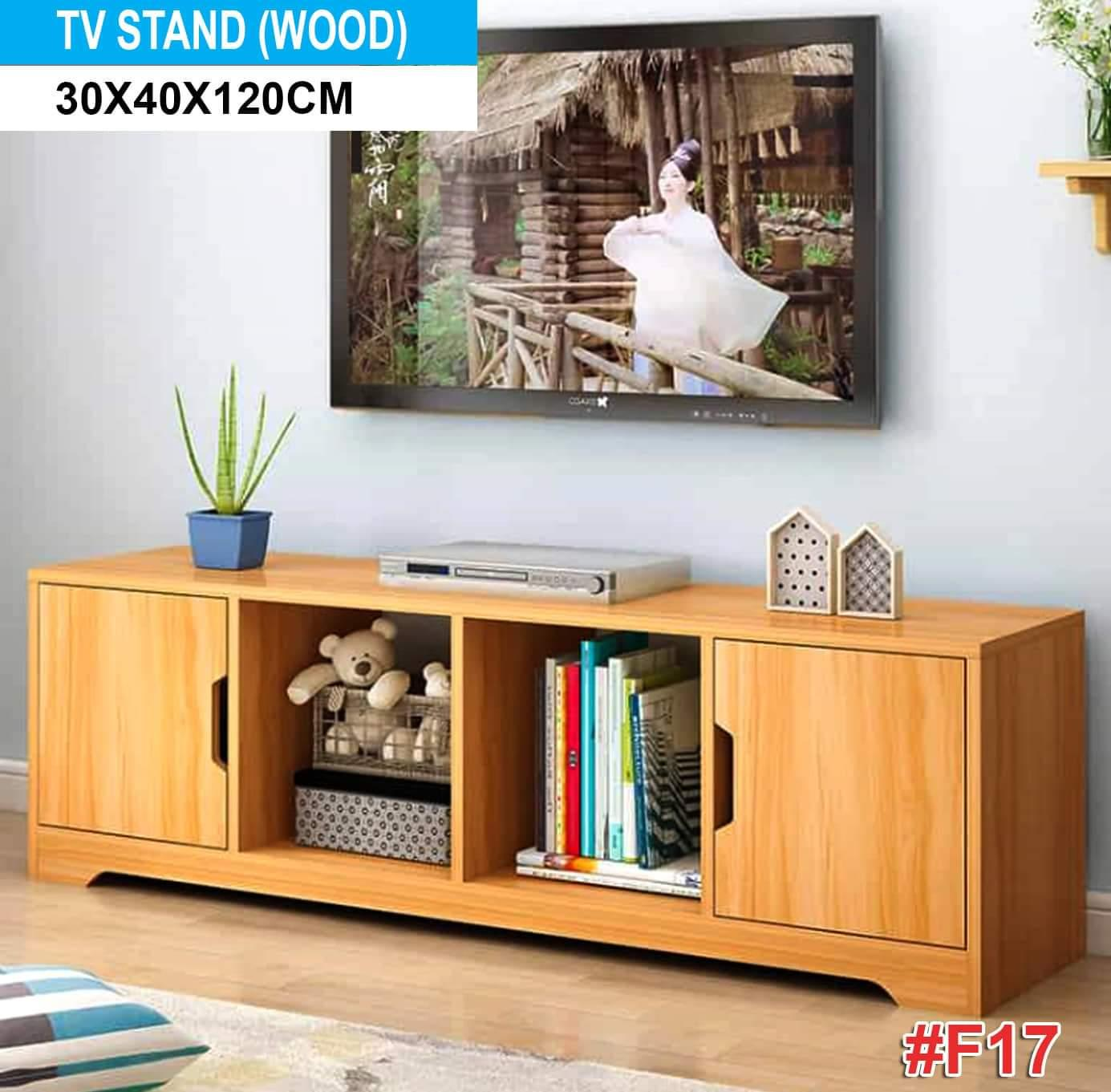 Minimalistic Wooden Tv Stand F17