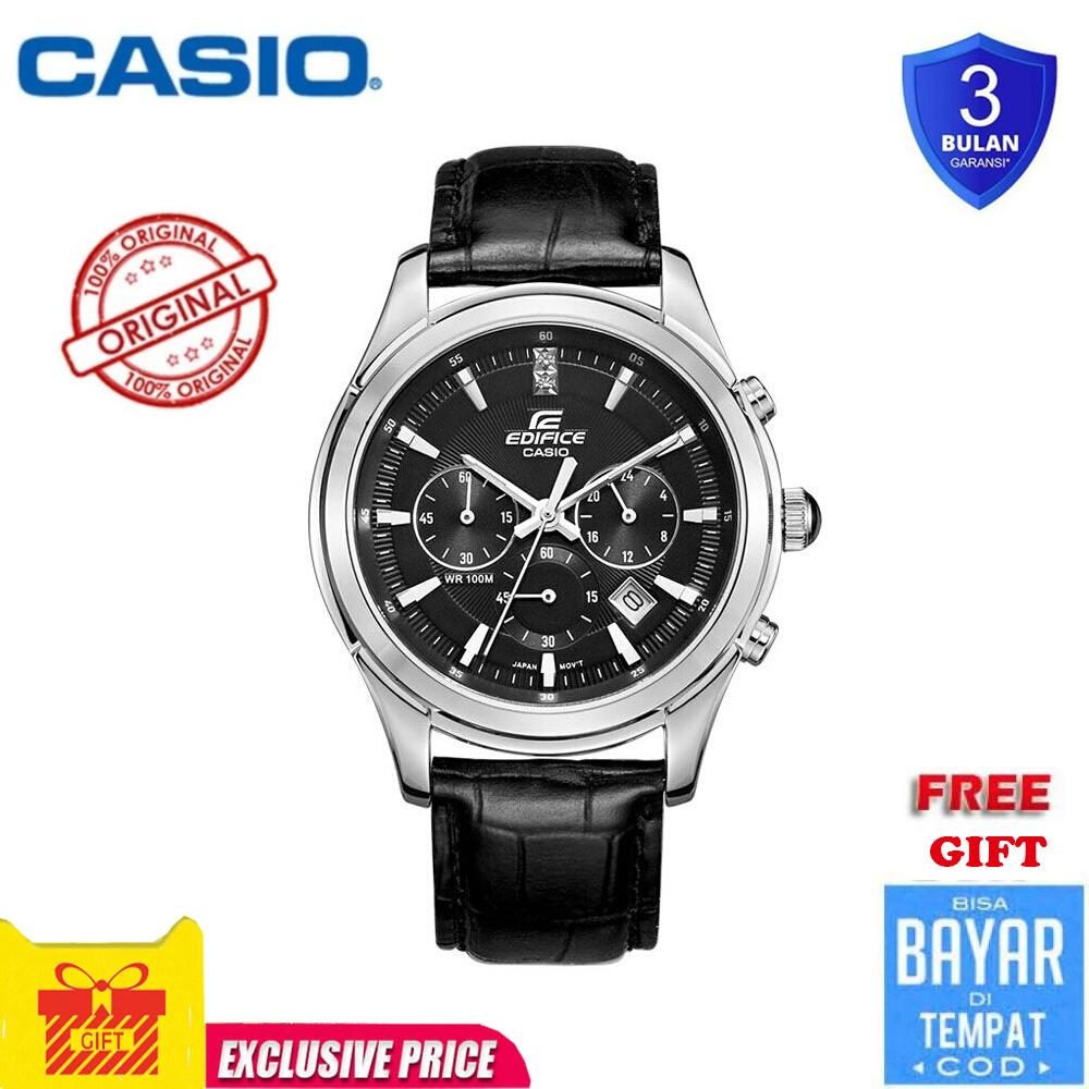 fa978f519837 Casio simple fashion men s watch waterproof quartz men s watch black belt  ...
