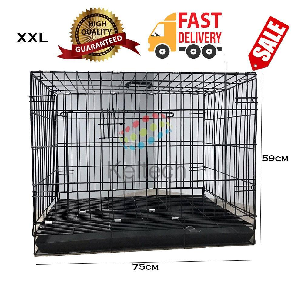Dog Cage / Cat Cage Collapsible XXL Extra Extra Large Size for Pets in  Black #4