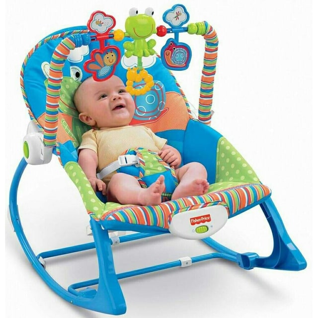 Fisher Price Baby Rocker Infant To Toddler Baby Rocking Chair For Girls And Boys Lazada Ph