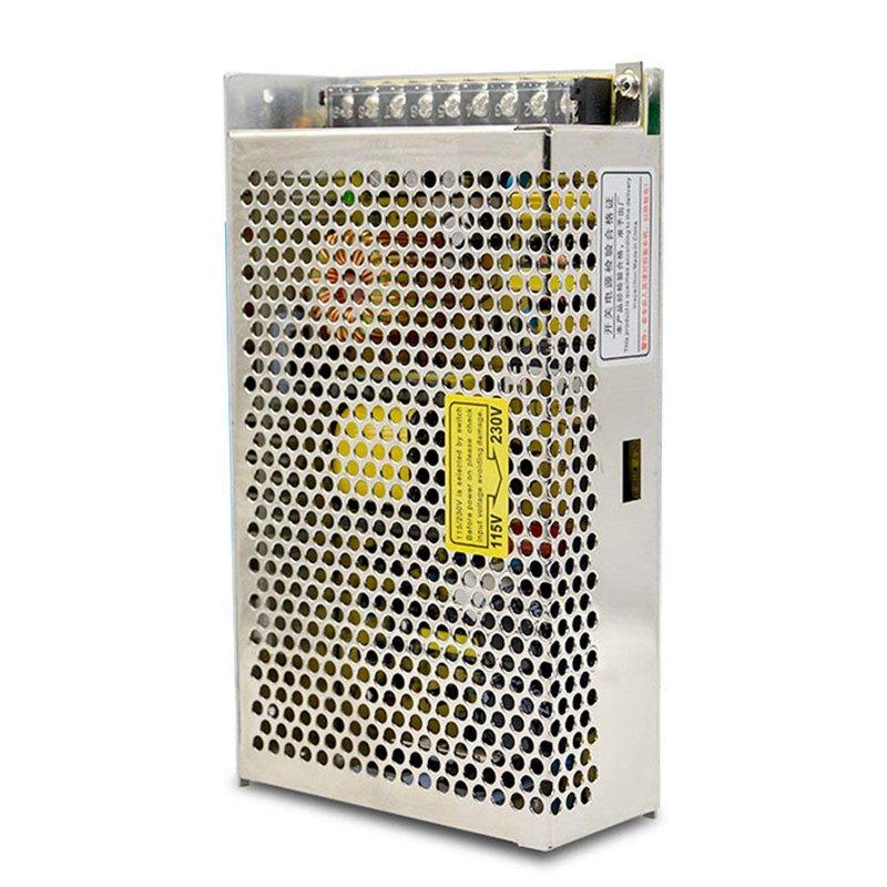 Metal Switching Power Supply Driver 24V For Led Lighting Stripes, Industrial Equipment, Security Cameras Etc.-200W 24V 8A Siêu Tiết Kiệm