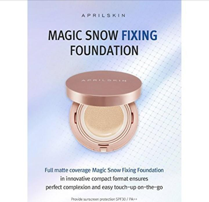 April Skin Pink Cushion Fixing Coverage (Beige) Philippines