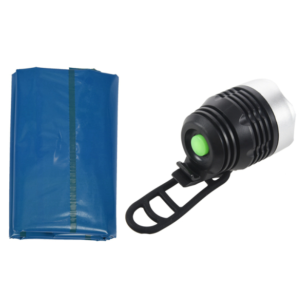 1 Pcs 3 Modes Front Light Head Light Lamp Headlight & 1 Pcs Outdoor Air Mattress Camping Cushion