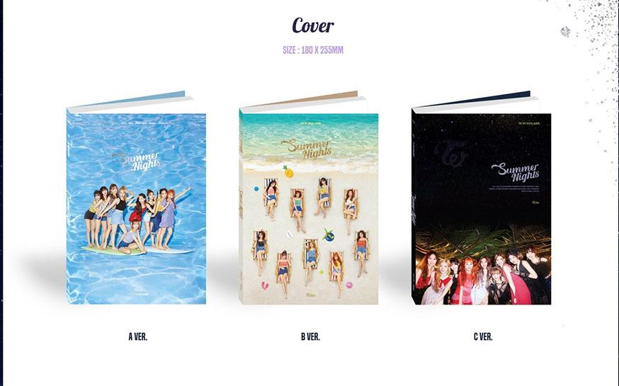 TWICE Summer Nights Official On-hand Kpop