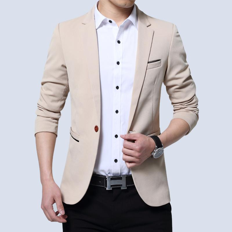 Spring And Autumn New Style Leisure Suits For Men Male Korean Style Slim Fit Suit Business Small Suit Youth Mens Coat By Taobao Collection.