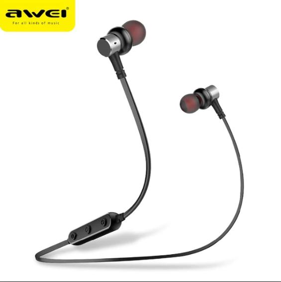Awei B923BL Sport Bass stereo Wireless Bluetooth Earphones Headset In-Ear Headphones ( Black )