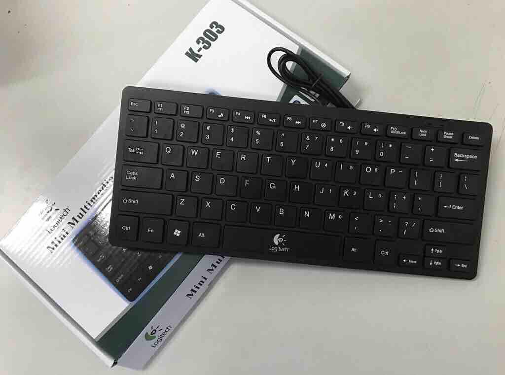 d98aebcfe49 Logitech Multimedia USB Mini Keyboard for PC Laptop (Black) Philippines