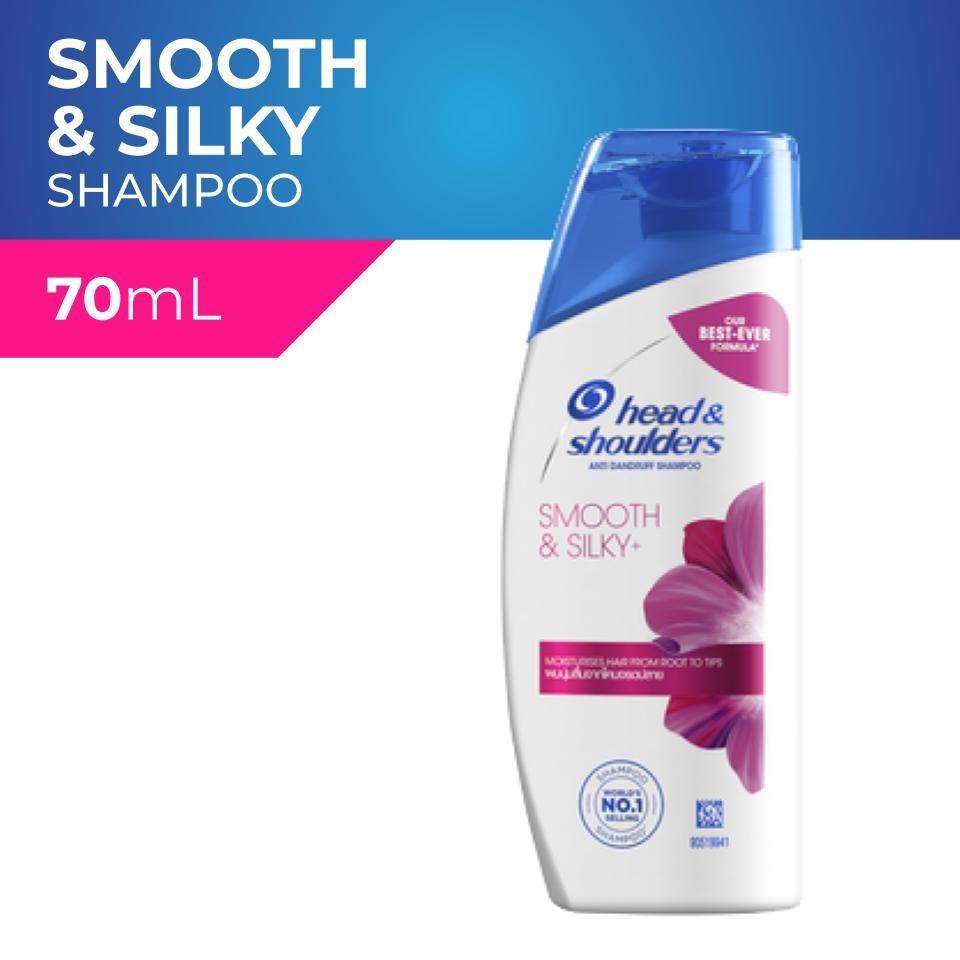 Head & Shoulders Smooth & Silky Anti-Dandruff Scalp Care Shampoo 70ml