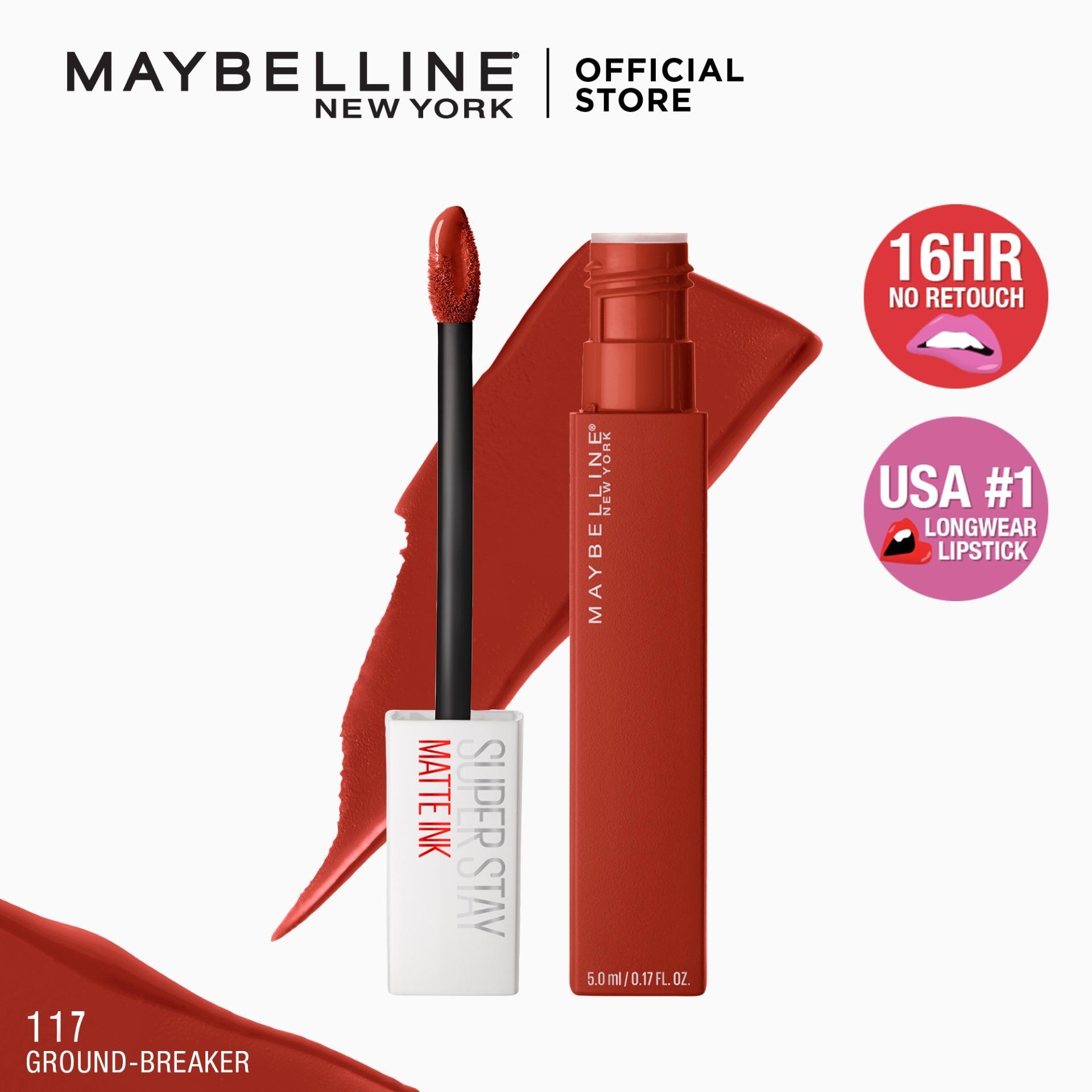 Maybelline SuperStay Matte Ink Collection Liquid Lipstick [16HR Longwear, Waterproof]– Makeup [12. 12 Sale]