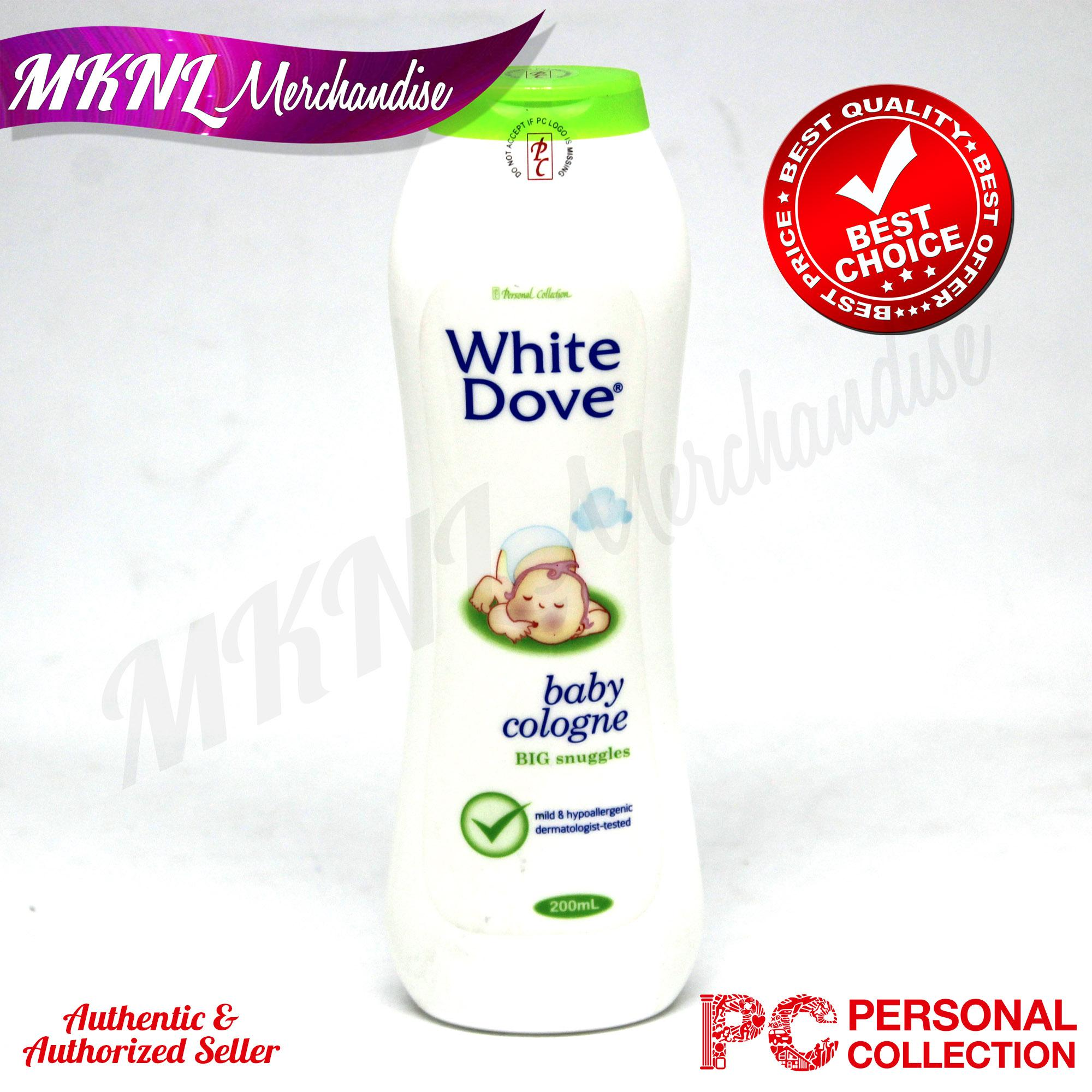 White Dove Baby Cologne Big Snuggles (200ml) By Mknl Merchandise.