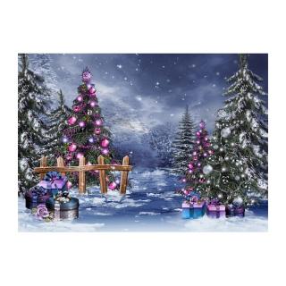 Phông Nền Nhiếp Ảnh Nền Lấp Lánh, Chân Dung Trang Trí Vòng Hoa Cây Giáng Sinh Năm Mới Studio Ảnh Trẻ Em thumbnail