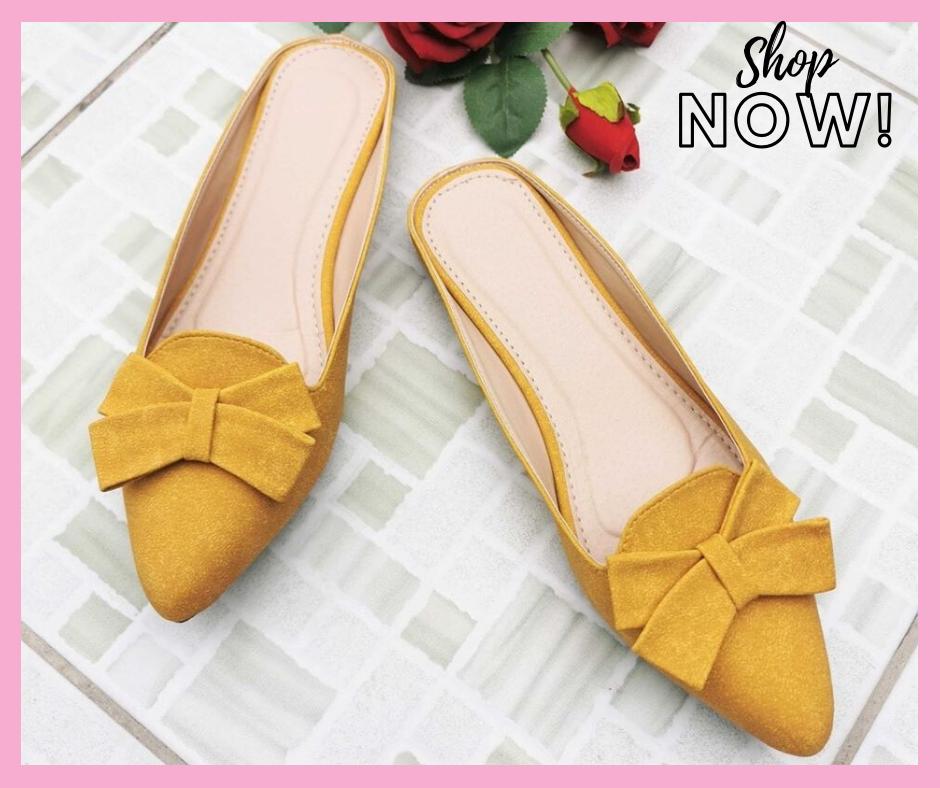 Safia Korean Trendy Flat Shoes Pointed