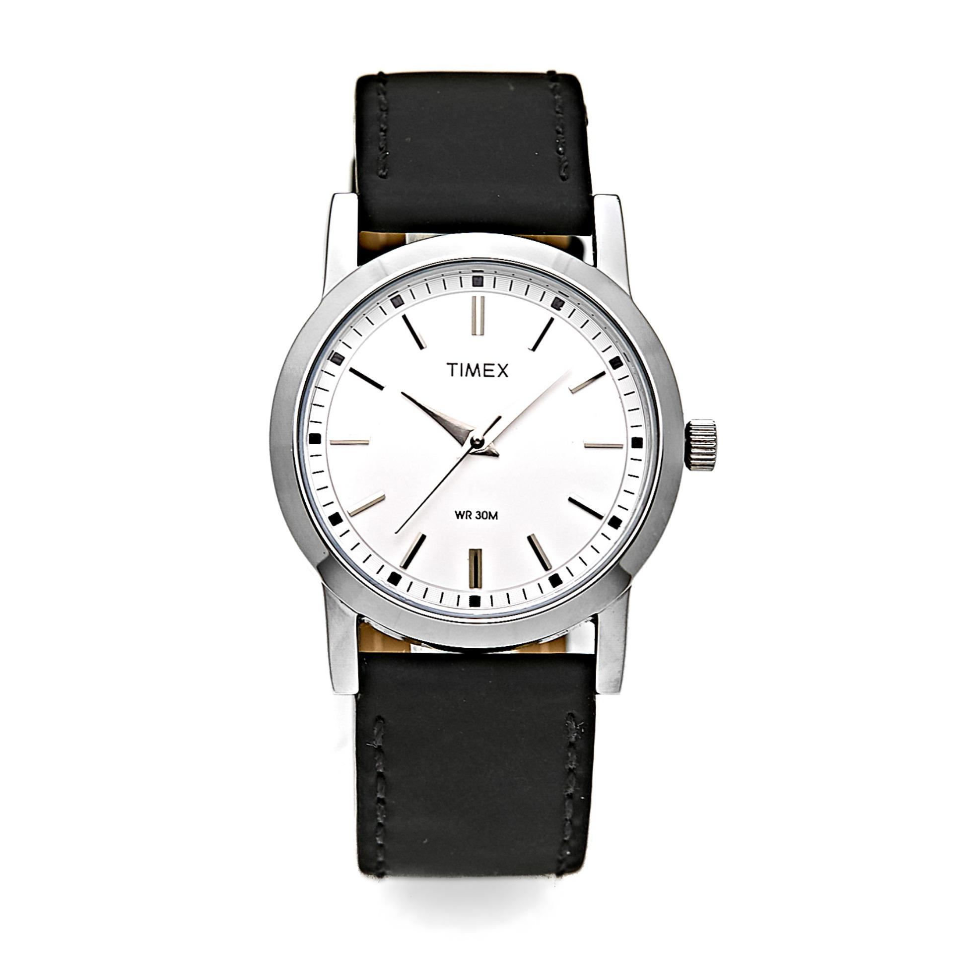 f2150914e6ee Timex Ladies Classics Black Leather Watch T2Z023SC SC Solo STYLE