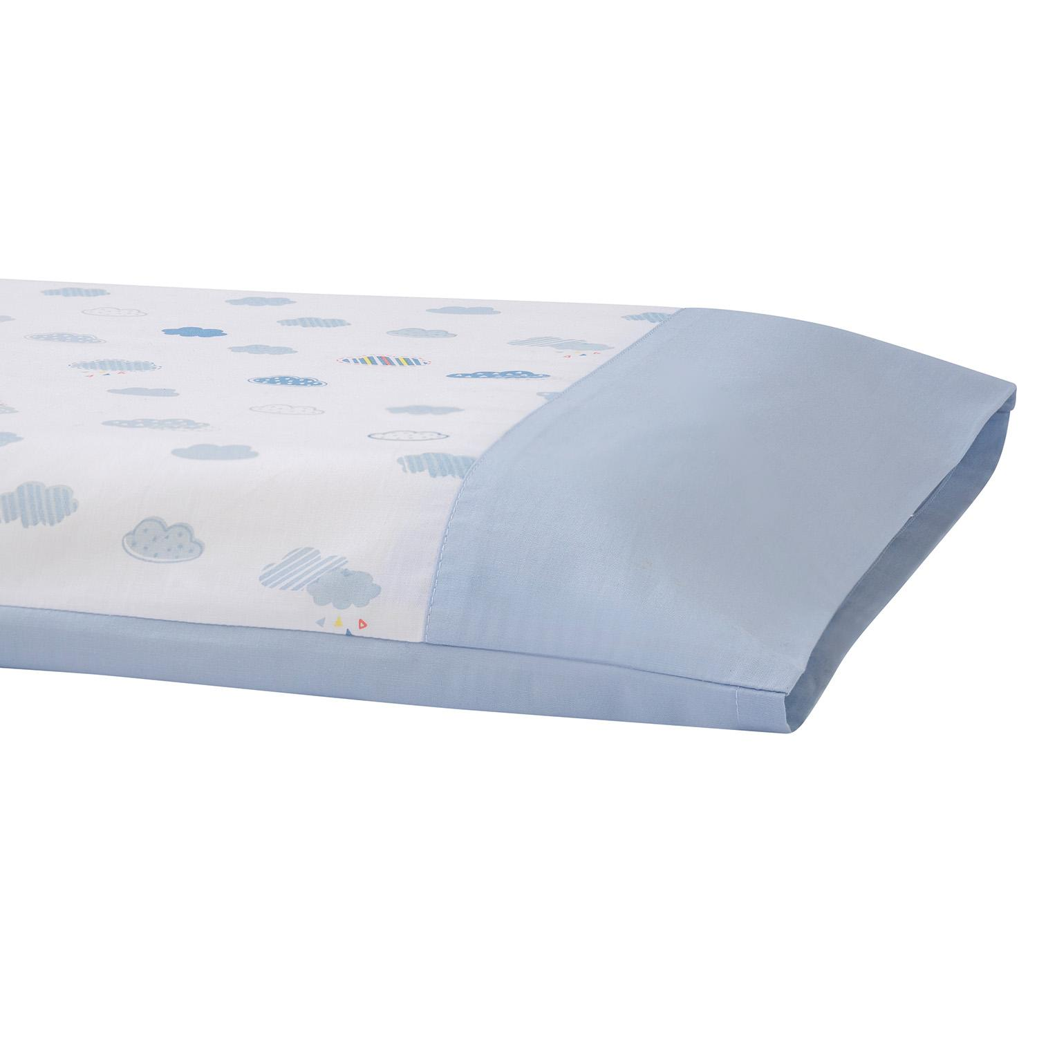 factory authentic dade6 03d18 Ke li Mom Newborn Infant Space Memory Foam Pillow 0-6-Year-Old er tong zhen  Anti-Slanting Head Memory Foam Summer Breathable