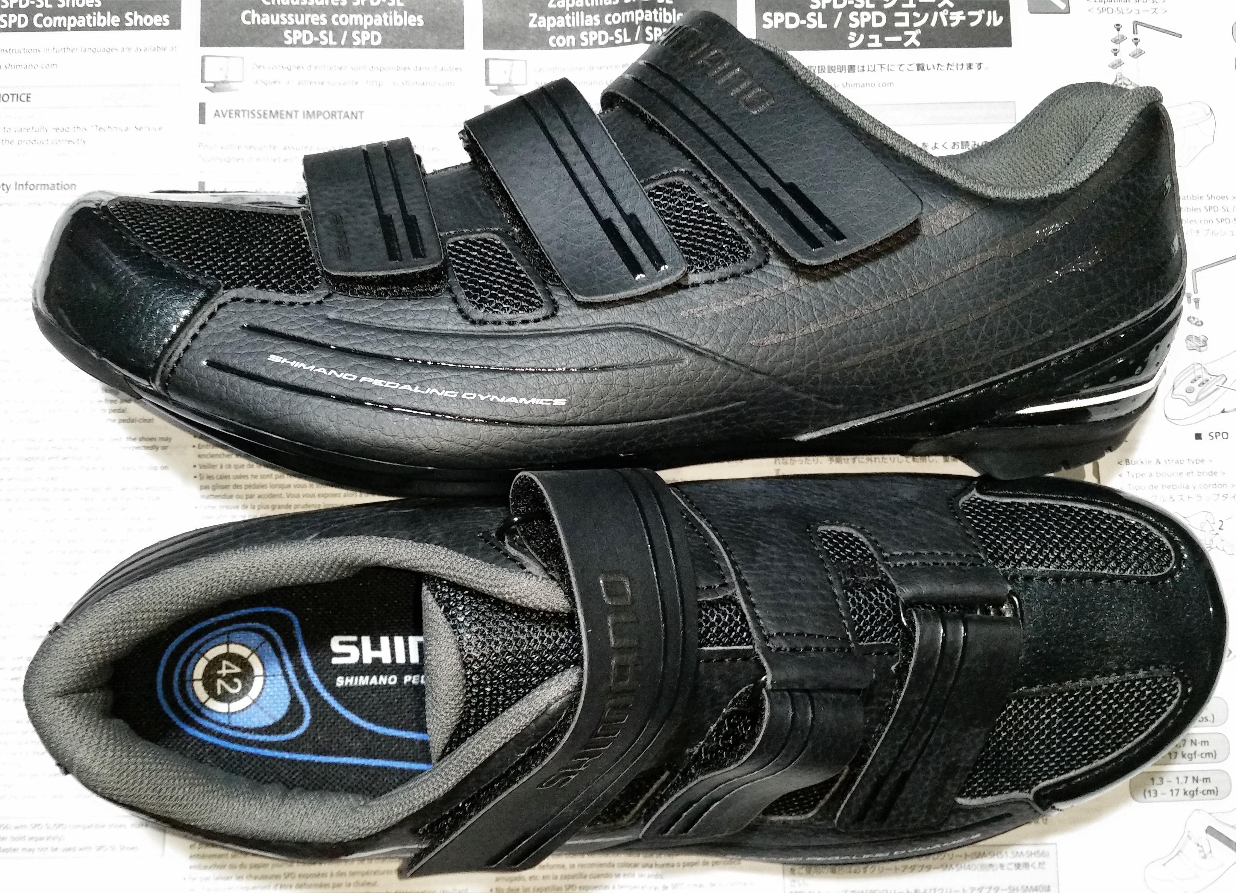 Shimano MTB Shoe Sh-Mt54l Various Sizes Black SPD Compatible Black