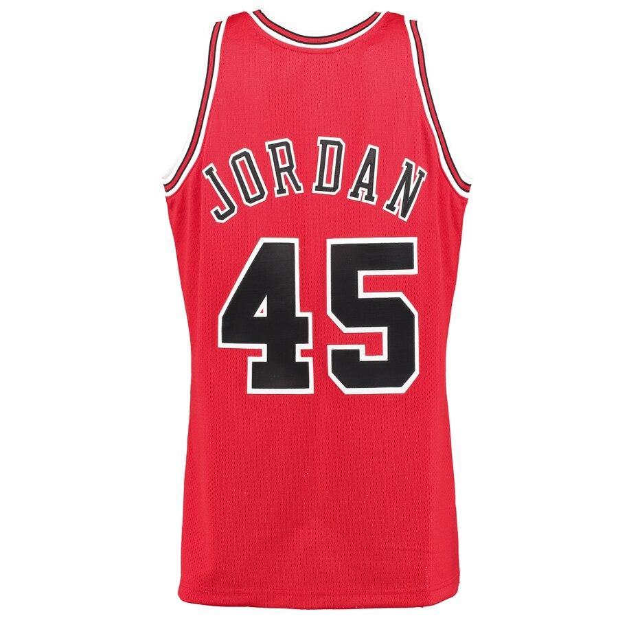 6fddc843 Men's Chicago Bulls Michael Jordan #45 Mitchell & Ness 1994-95 Homecoming Authentic  Jersey | Lazada PH