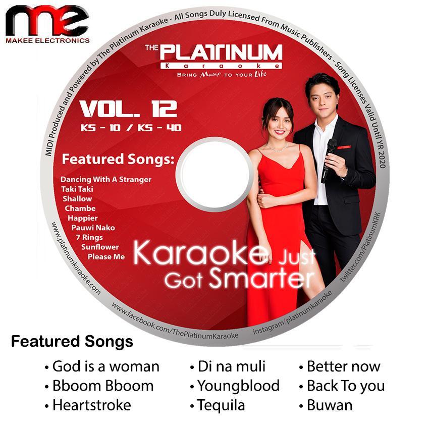 Platinum KS-10/KS-40/Junior 2/K-box 1&2 VOLUME 12 (June 2019 UPDATE CD)