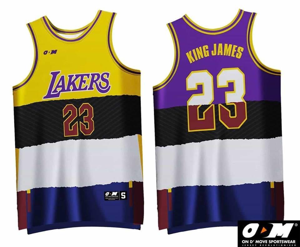 size 40 43c3a 07fc8 LeBron James Lakers x Cavs Jersey