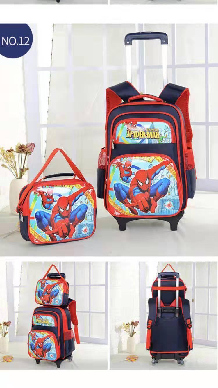 1571bc5e7f21 Topstar Trolley school bag 2in1bag 2( Lightning Wheels )Trolley Backpack  Wheeled Bag lunch bag