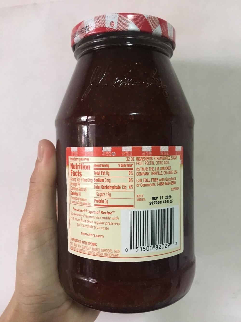 Smuckers Special Recipe Strawberry