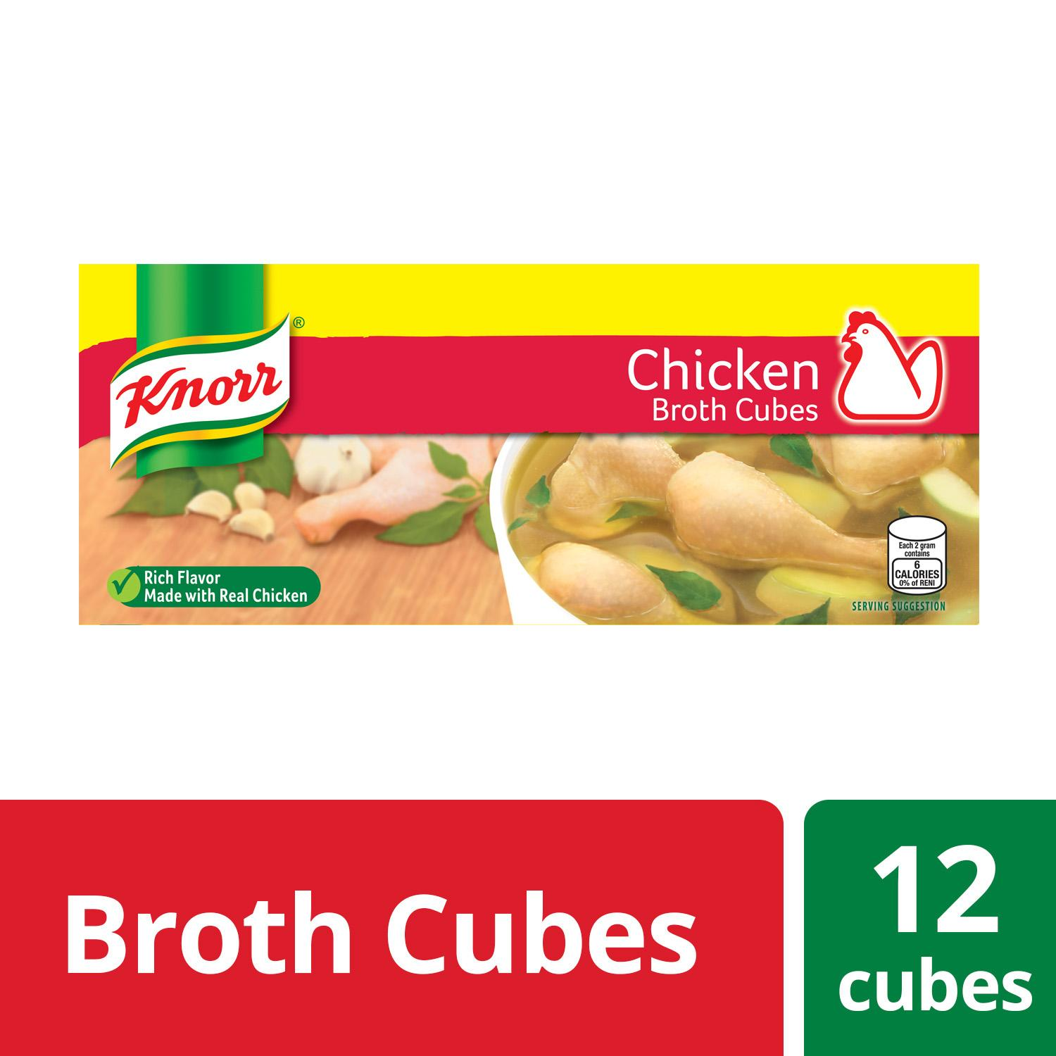 Knorr Cubes Savers Chicken 120g