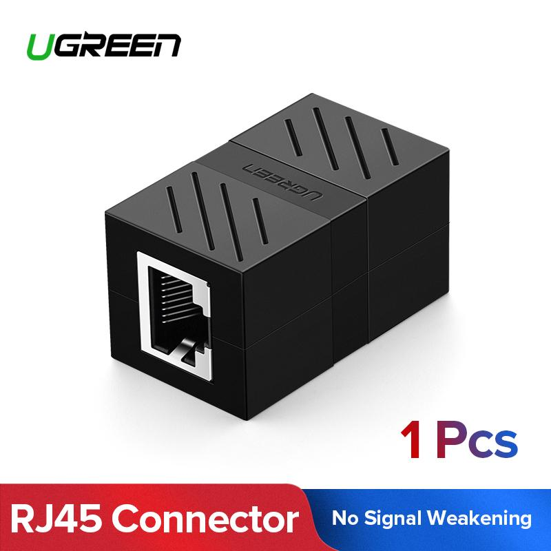 UGREEN RJ45 Cat7 Cat6 Cat5 RJ45 Female Connector Ethernet Adapter Lan Network Extender Extension Cable for