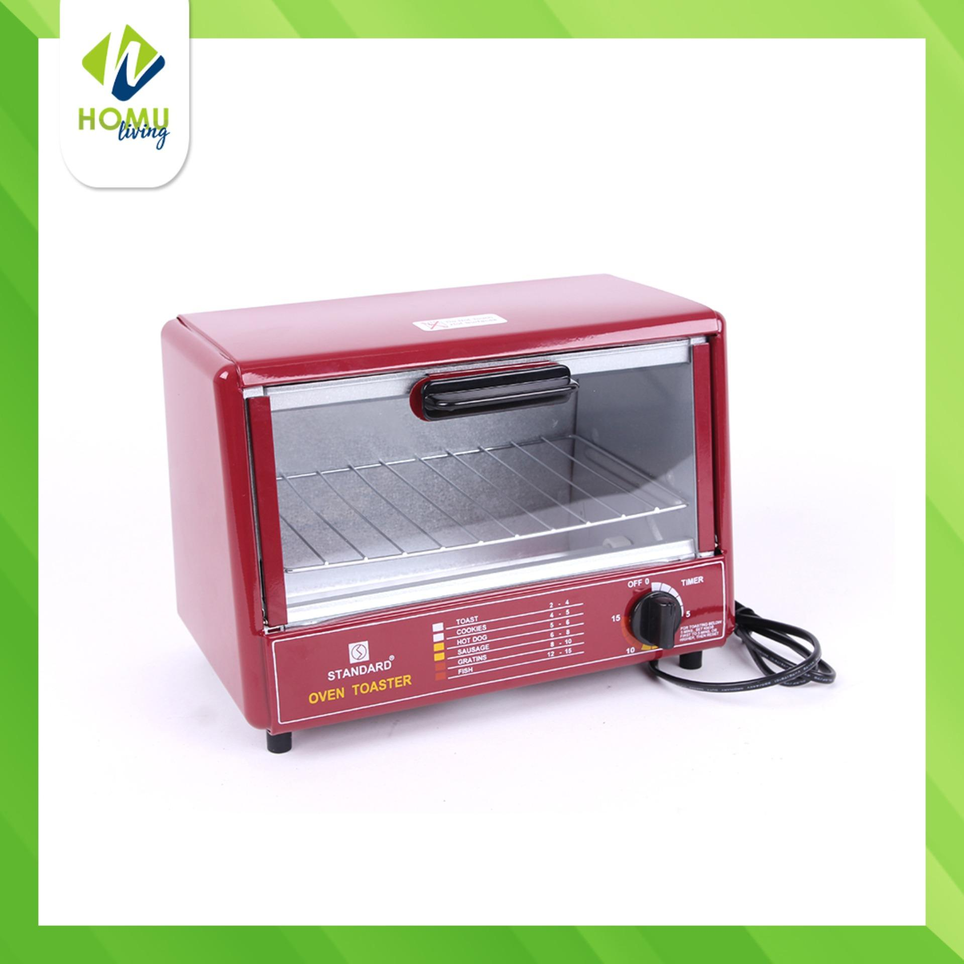 Standard Sot 602 Wide Oven Toaster Red