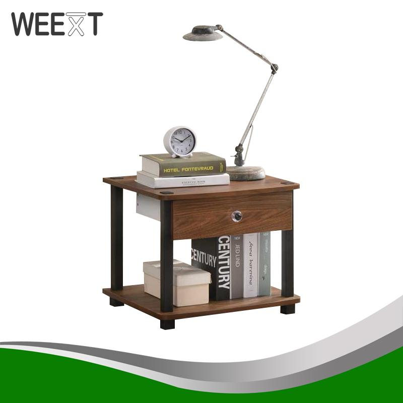 Terrific Weext Side Table Night Stand With Drawer Beutiful Home Inspiration Ommitmahrainfo