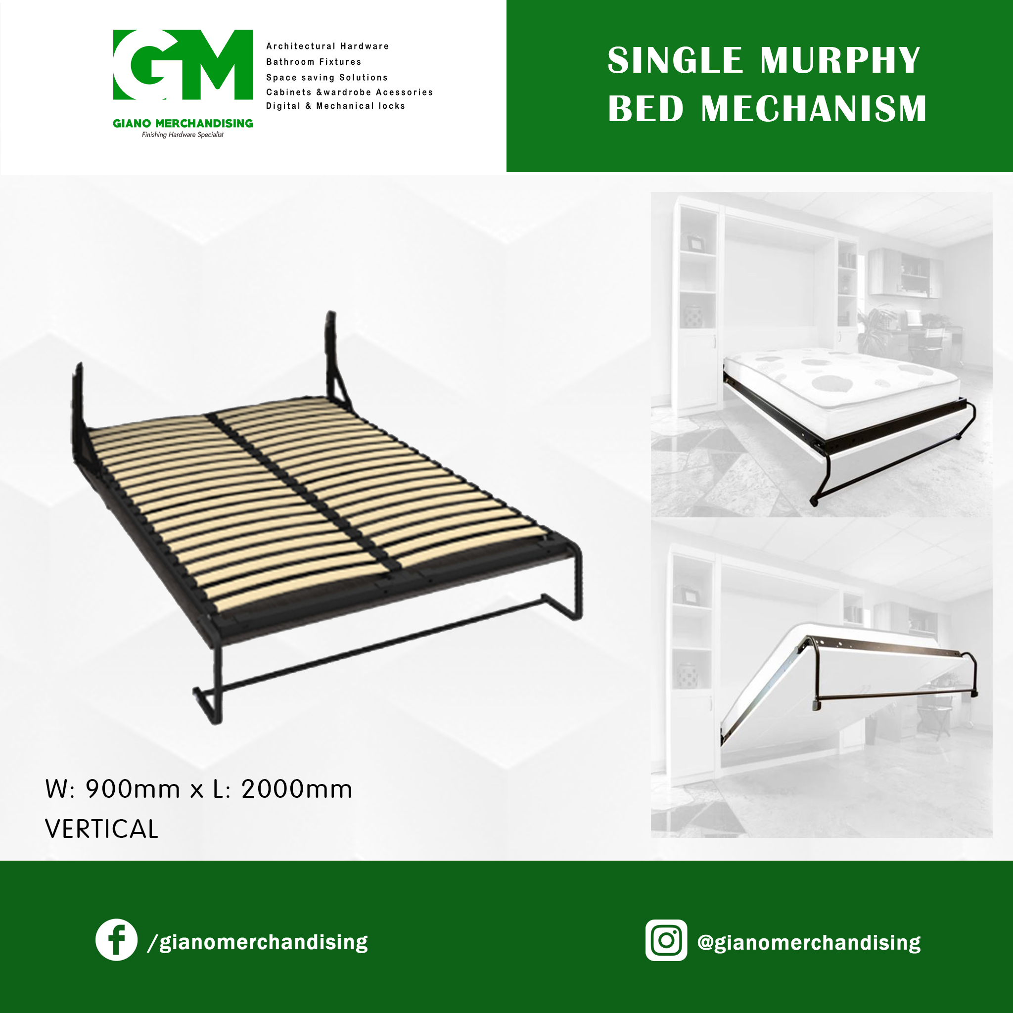 Murphy Bed Mechanism Vertical Buy Sell Online Beds With Cheap Price Lazada Ph