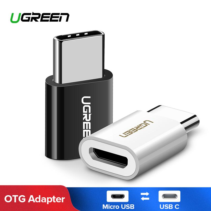 UGREEN USB C to Micro USB Adapter, USB Type C Male to USB 2 0 micro B  Female Convert Connector OTG Adapter, supports Samsung S8/S9 Plus/  Note8/Note 9/
