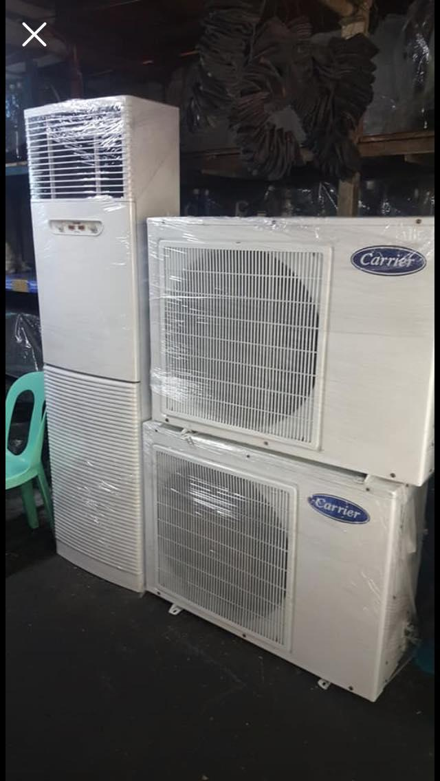 Carrier Floor Mounted Aircon 3TR/4HP non-inverter type unit