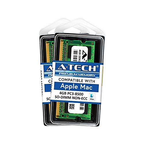 8GB KIT 2X 4GB PC3-8500 Apple MacBook Pro Apple iMac Apple Mac MINI MEMORY RAM