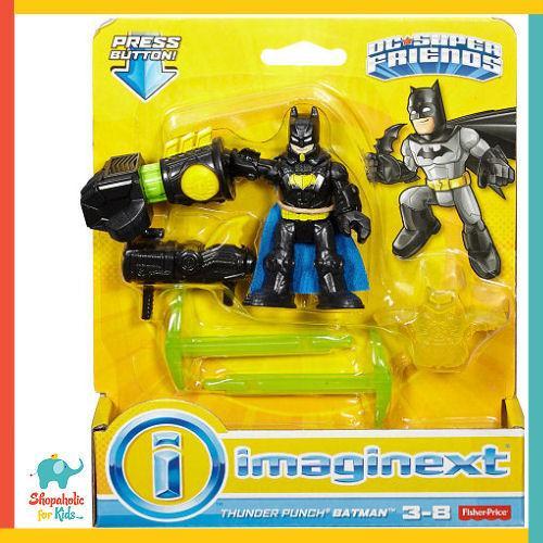 Imaginext THUNDER PUNCH BATMAN FIGURE