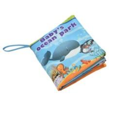 Fabric Books Educational Cloth Book Preschool Training Cartoon Baby Toy Ocean Park By A Mango.