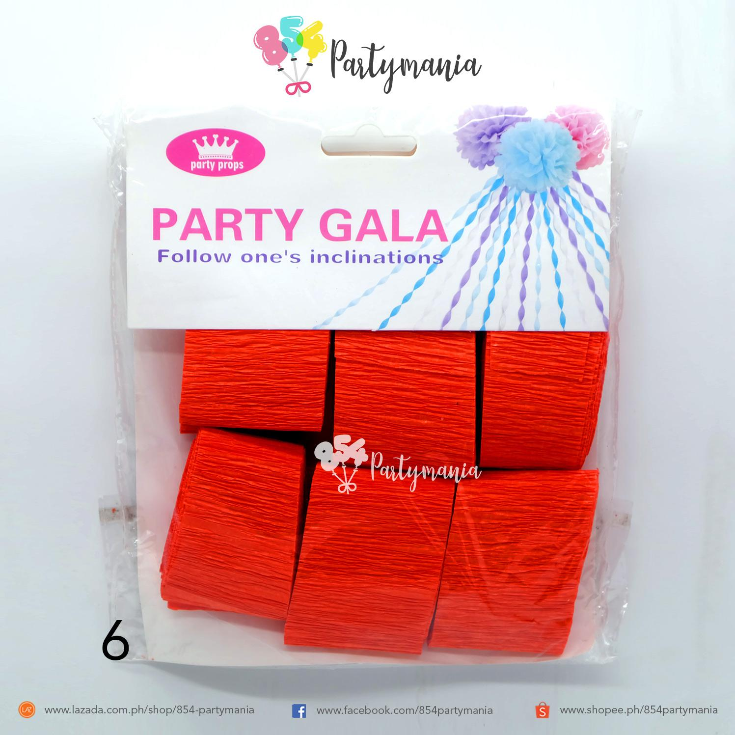DIY Crepe Paper Streamers for Various Decorations,Party Backdrop  Decorations,Birthday,Christmas,Theme Parties,DIY