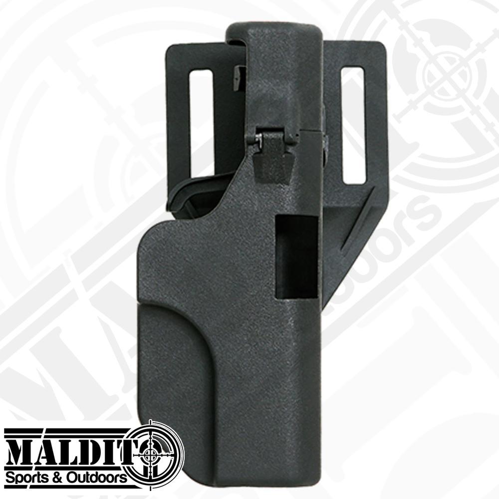 MS052 Quick Reload Right Hand Belt PistoI Holster for Gl0ck 17 18 19 22 23