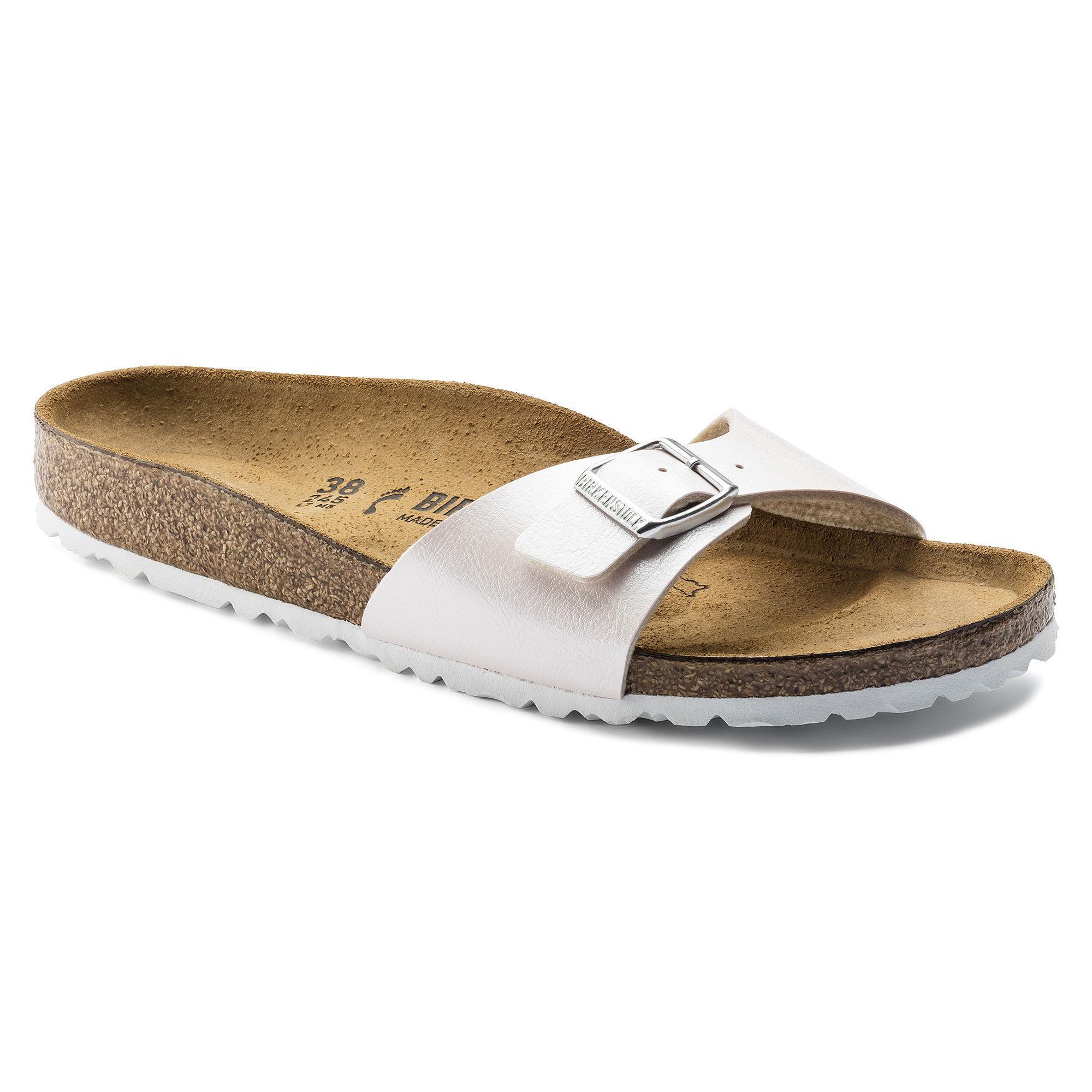 19beb1657216c2 Birkenstocks Women Madrid Birko-Flor Graceful Mauve Summer sandals fashion  slippers
