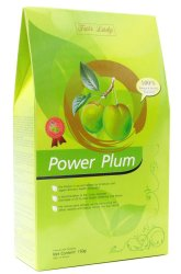 Fair Lady Power Plum Slimming and Colon Cleansing, Box of 15