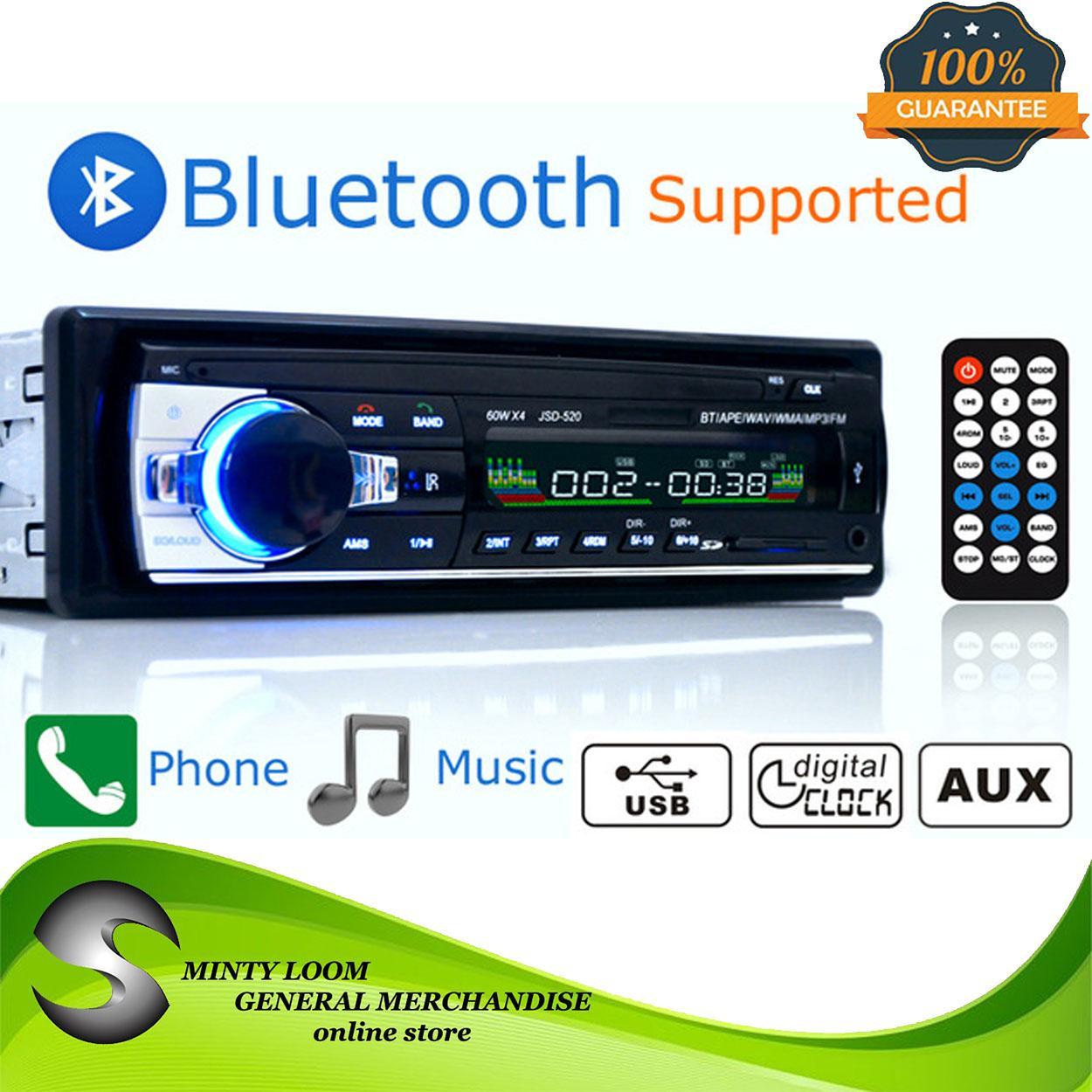 Car Radio 1Din AUX\USB Phone Charge\FM\Bluetooth\Card Play \Remote  Control\Handsfree MP3 Multimedia Player AutoRadio