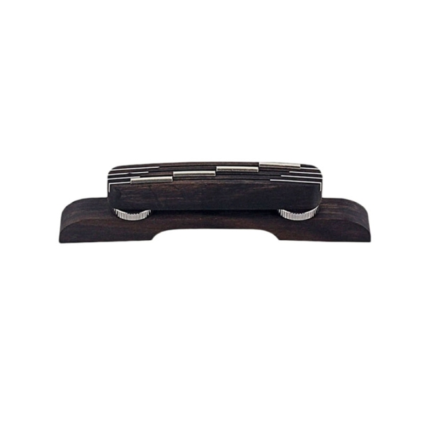 1Pcs Rosewood Guitar Mandolin Bridge for Bass Guitar Adjustable Guitar Parts