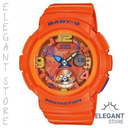 Casio Baby-G BGA-190-4B Traveler Series Women's Watch / BGA-