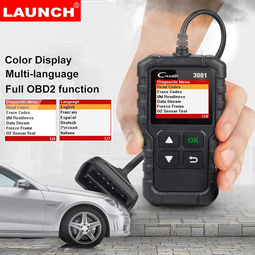 Launch Cr3001 Obd2 Scanner Provide Obdii/eobd Full Function Creader 3001 Auto Diagnostic Tool Obd2 Code Reader By Powerful-Enterprise