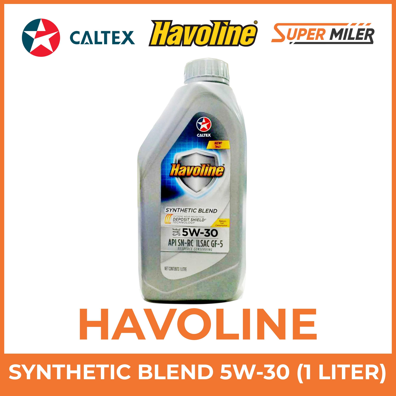 Havoline® Synthetic Blend SAE 5W-30 1Liter Motor Oil