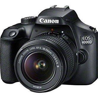 Canon Eos 4000d Dslr Camera With 18-55 Iii Lens By 4p Store.