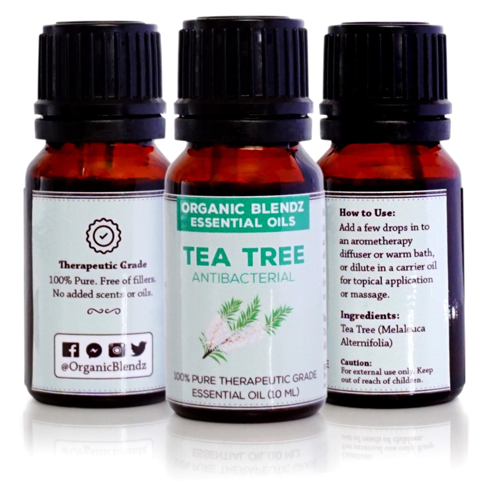 Tea Tree Essential Oil, 100 Pure Therapeutic Grade, 10ml
